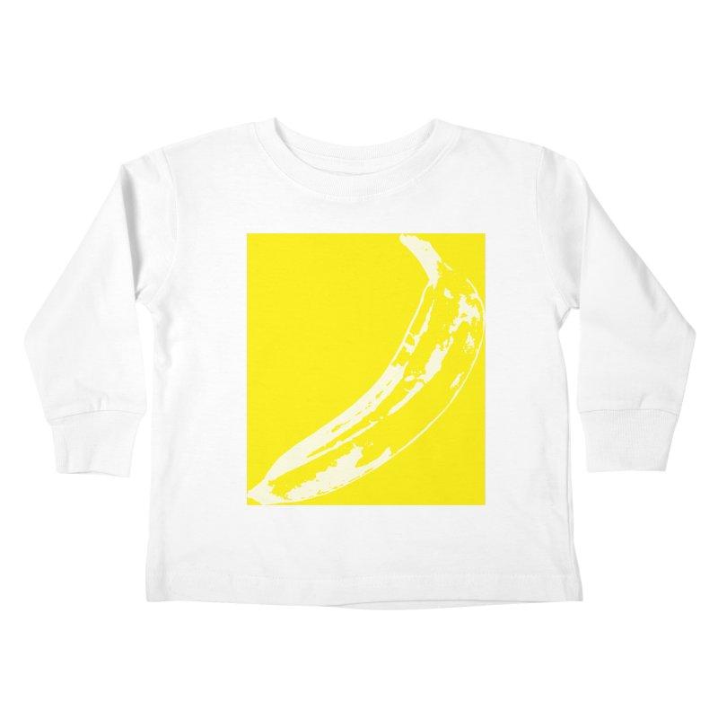 Negative Pop Kids Toddler Longsleeve T-Shirt by Izzy Berdan's Artist Shop