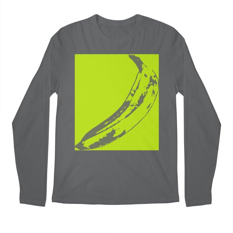 negative plantain Men's Longsleeve T-Shirt by Izzy Berdan's Artist Shop