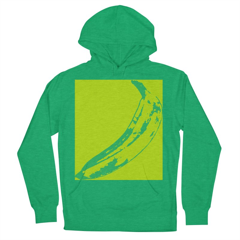 negative plantain Women's French Terry Pullover Hoody by Izzy Berdan's Artist Shop