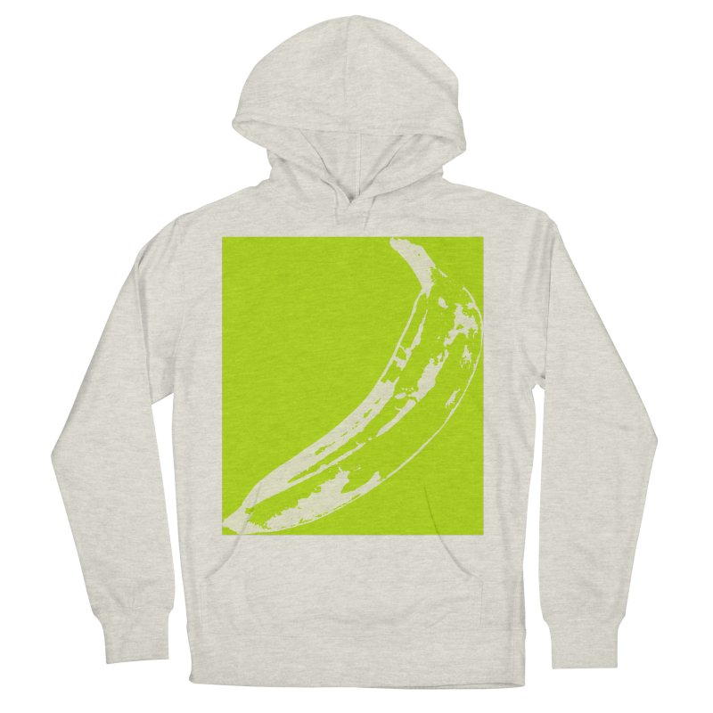 negative plantain Men's French Terry Pullover Hoody by Izzy Berdan's Artist Shop