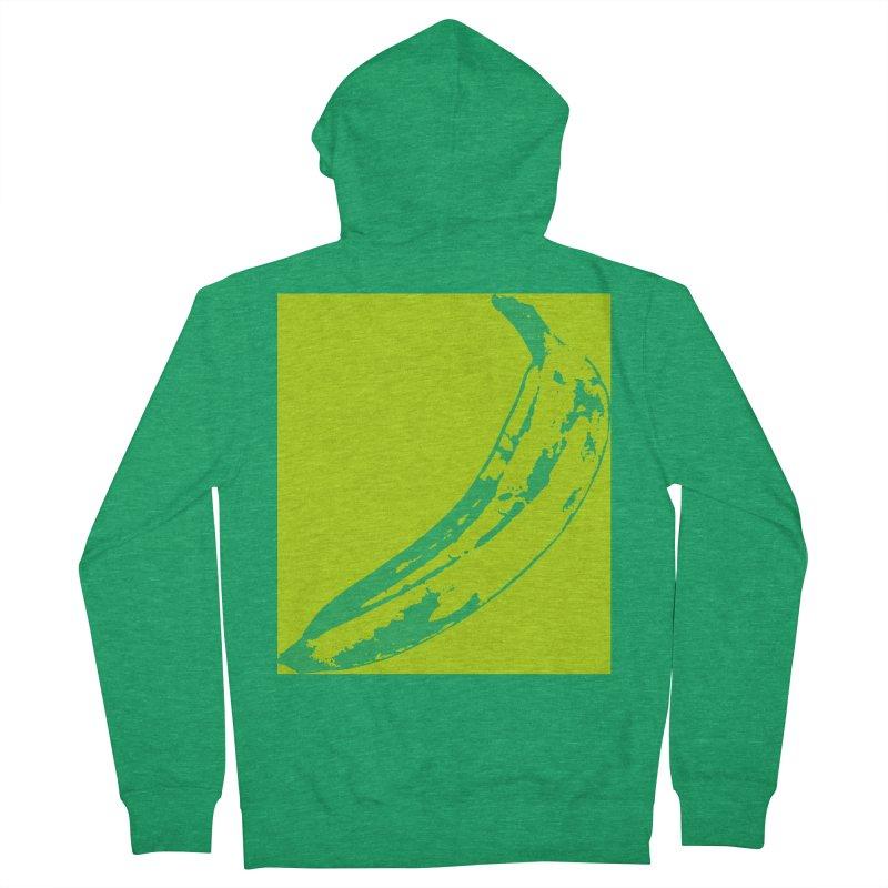 negative plantain Women's Zip-Up Hoody by Izzy Berdan's Artist Shop