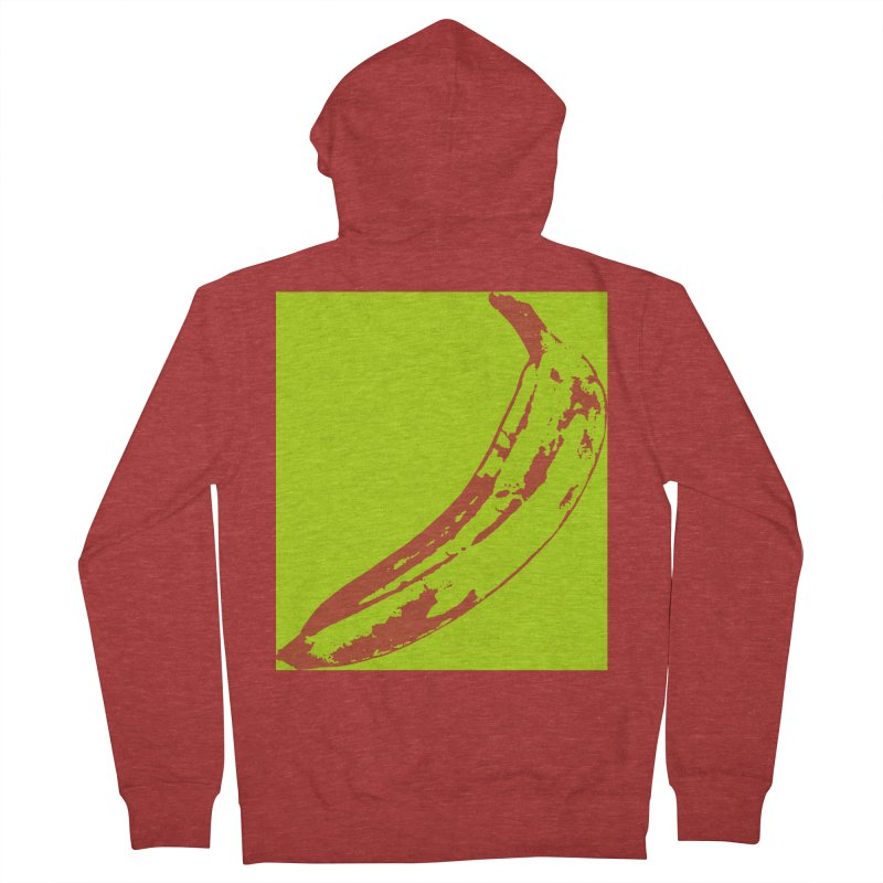 negative plantain Men's French Terry Zip-Up Hoody by izzyberdan's Artist Shop