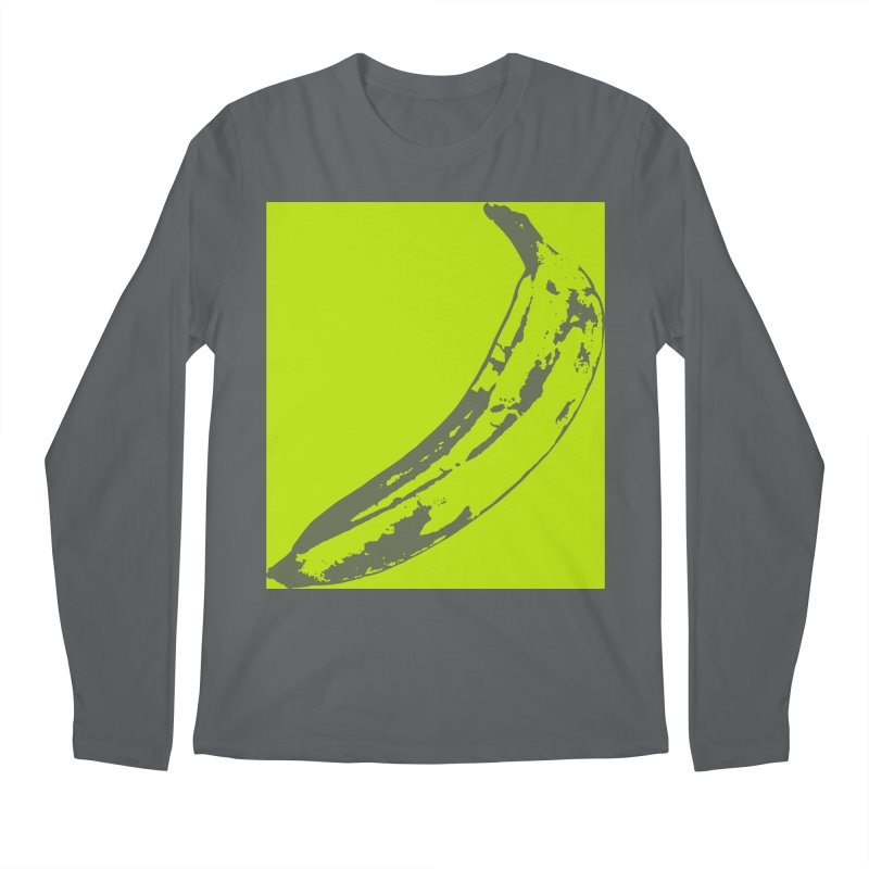 negative plantain Men's Regular Longsleeve T-Shirt by Izzy Berdan's Artist Shop
