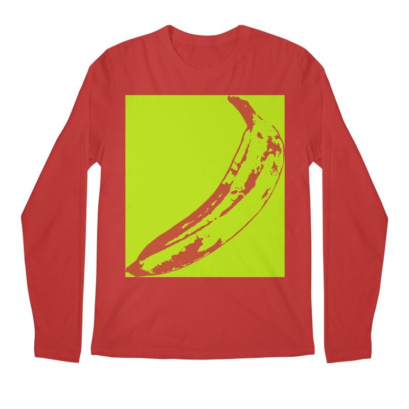 negative plantain Men's Regular Longsleeve T-Shirt by izzyberdan's Artist Shop