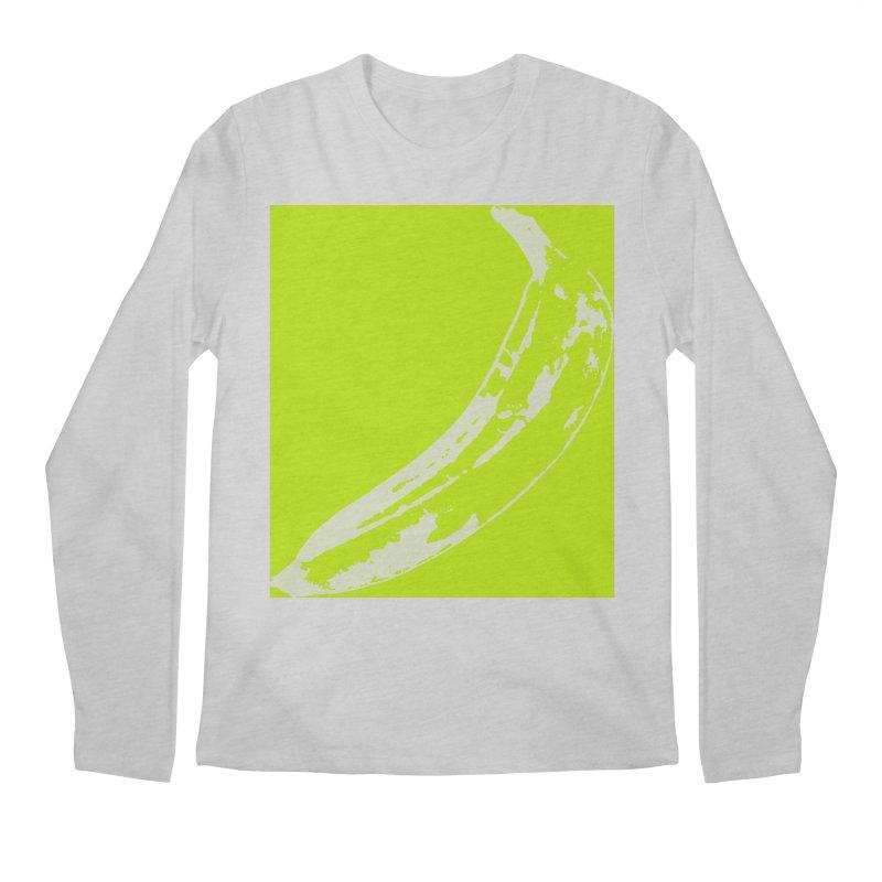 negative plantain Men's Regular Longsleeve T-Shirt by Izzy Berdan's Artist Shop