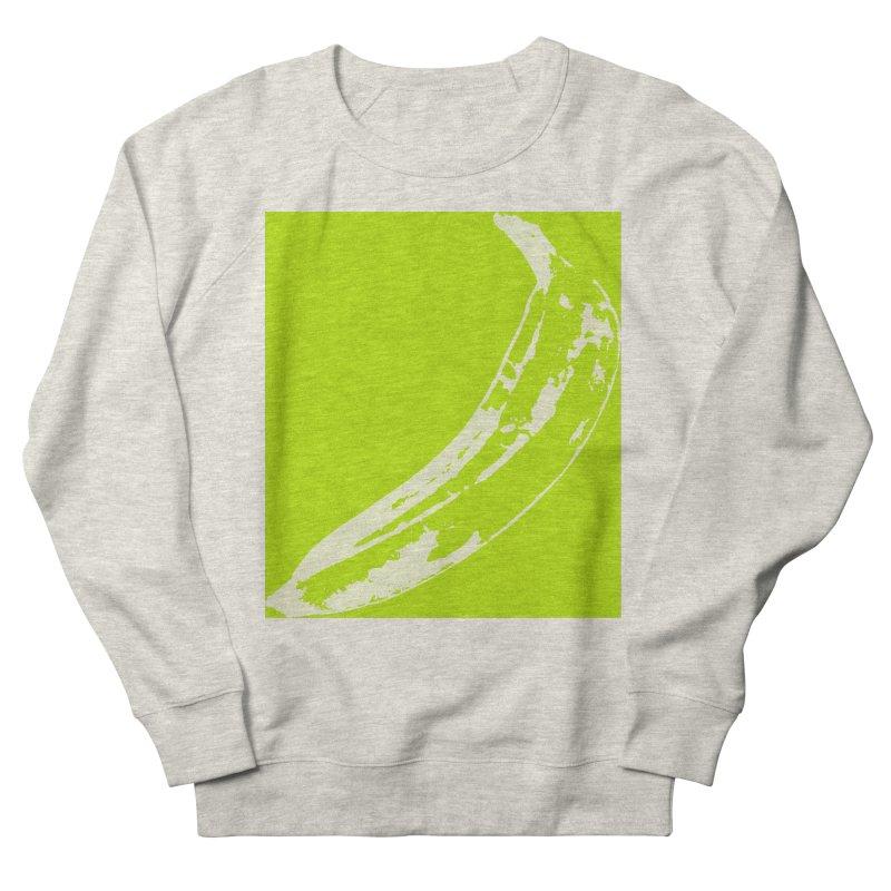 negative plantain Women's French Terry Sweatshirt by izzyberdan's Artist Shop