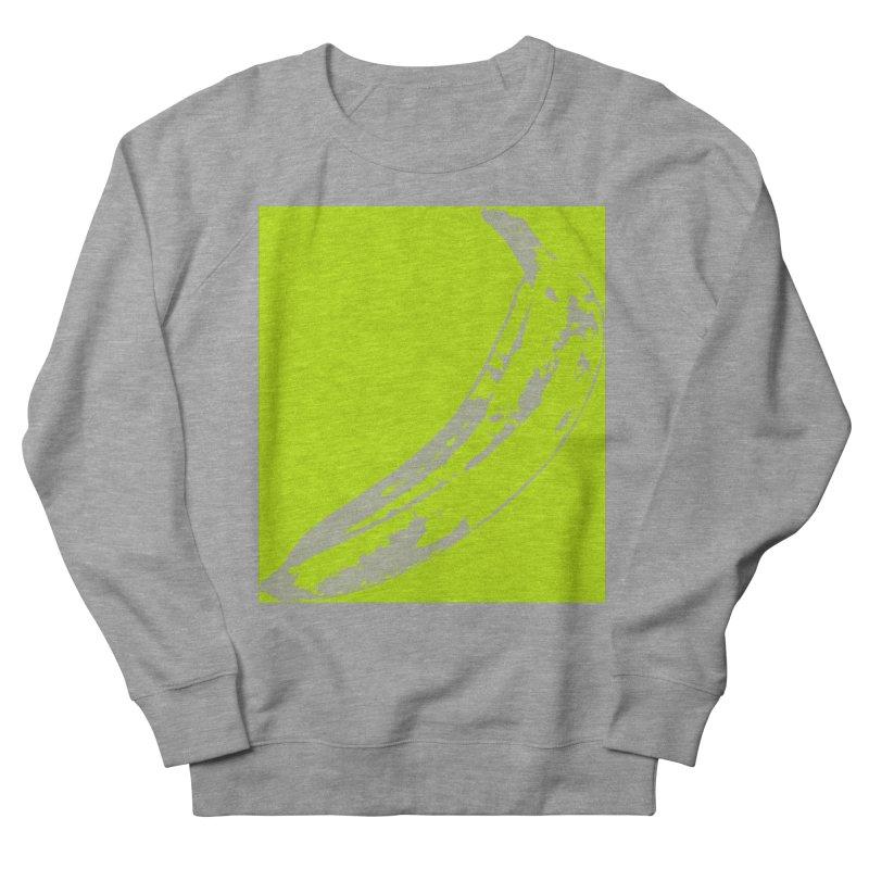 negative plantain Men's French Terry Sweatshirt by izzyberdan's Artist Shop