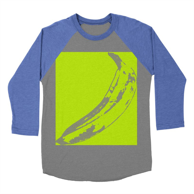 negative plantain Men's Baseball Triblend Longsleeve T-Shirt by Izzy Berdan's Artist Shop