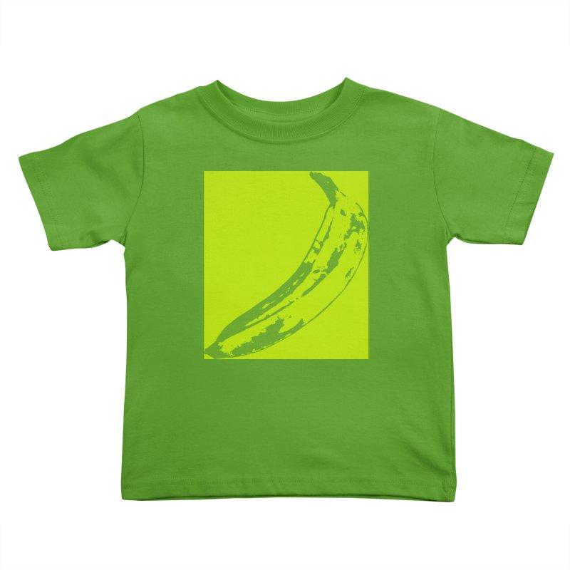 negative plantain Kids Toddler T-Shirt by Izzy Berdan's Artist Shop