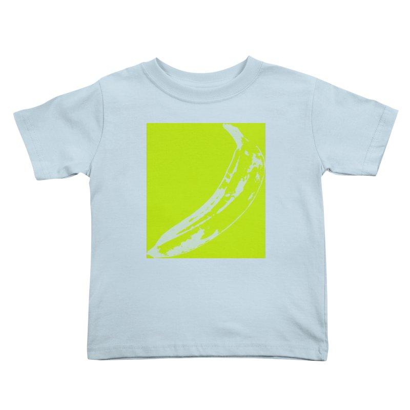 negative plantain Kids Toddler T-Shirt by izzyberdan's Artist Shop