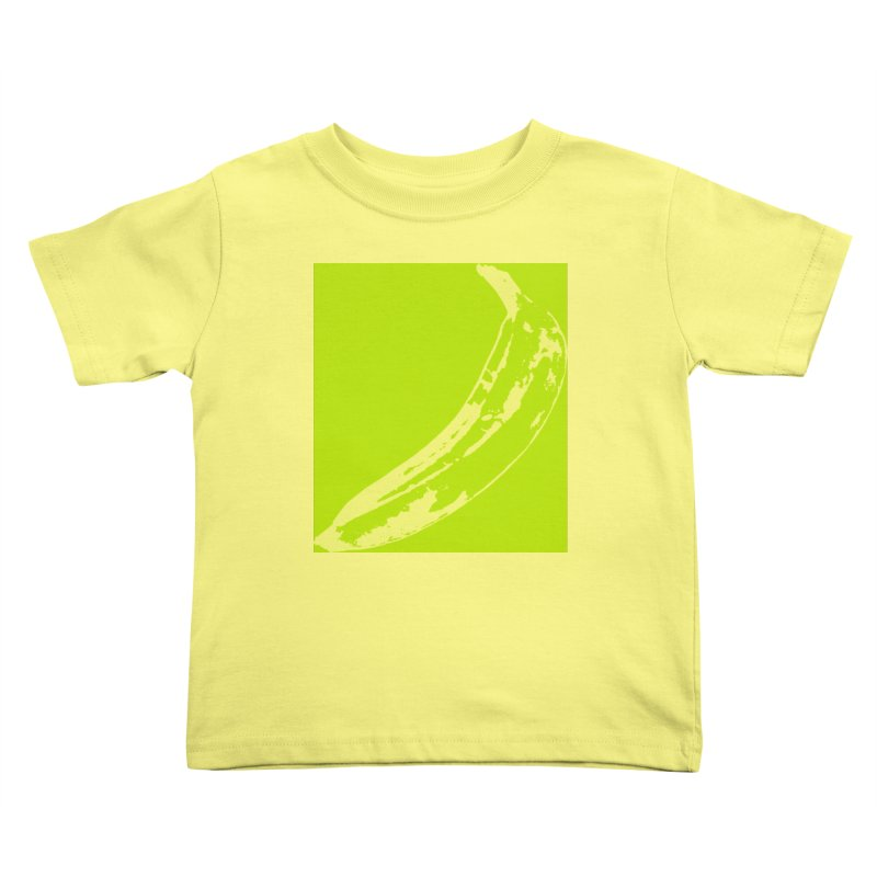 negative plantain Kids Toddler T-Shirt by Izzy Berdan's Artist Shop