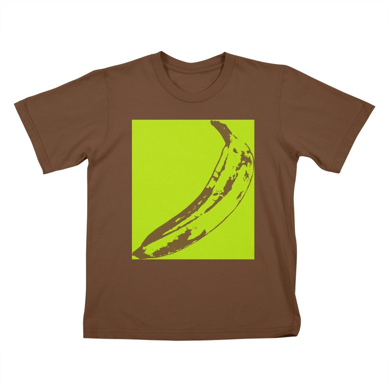 negative plantain Kids T-Shirt by Izzy Berdan's Artist Shop