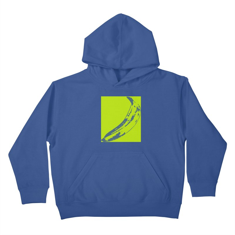negative plantain Kids Pullover Hoody by izzyberdan's Artist Shop