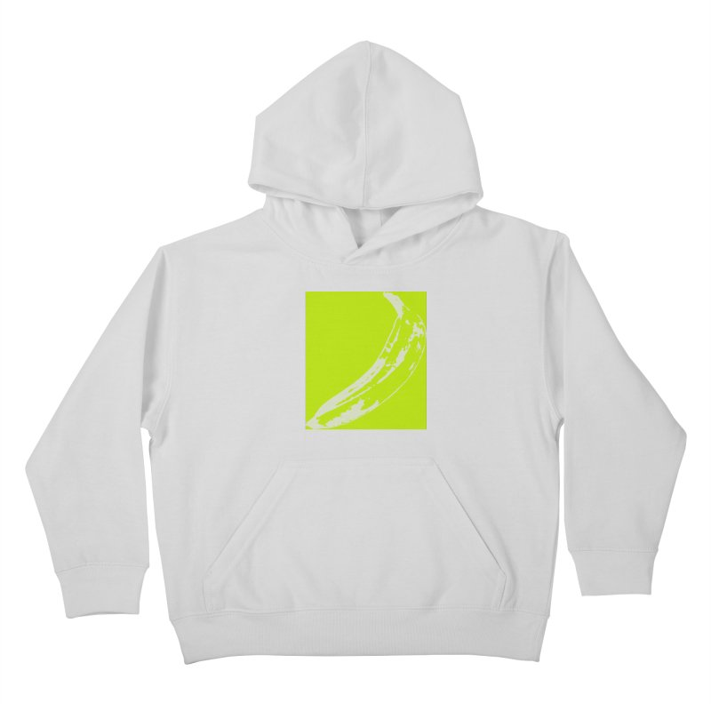 negative plantain Kids Pullover Hoody by Izzy Berdan's Artist Shop