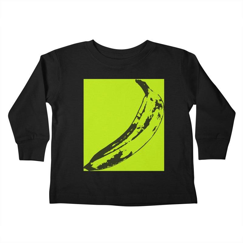 negative plantain Kids Toddler Longsleeve T-Shirt by izzyberdan's Artist Shop