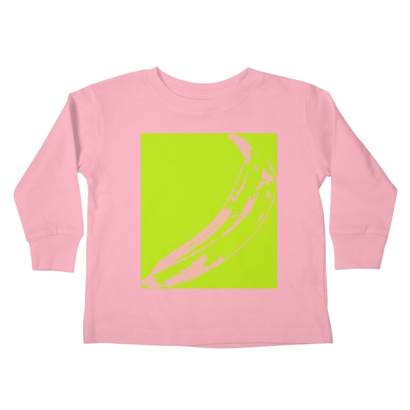 negative plantain Kids Toddler Longsleeve T-Shirt by Izzy Berdan's Artist Shop