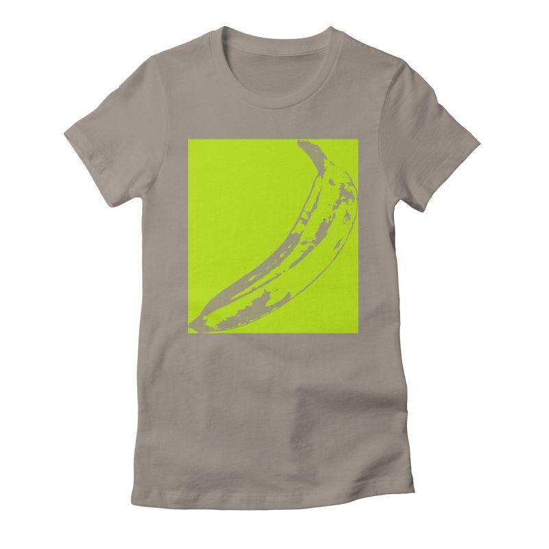 negative plantain Women's T-Shirt by Izzy Berdan's Artist Shop
