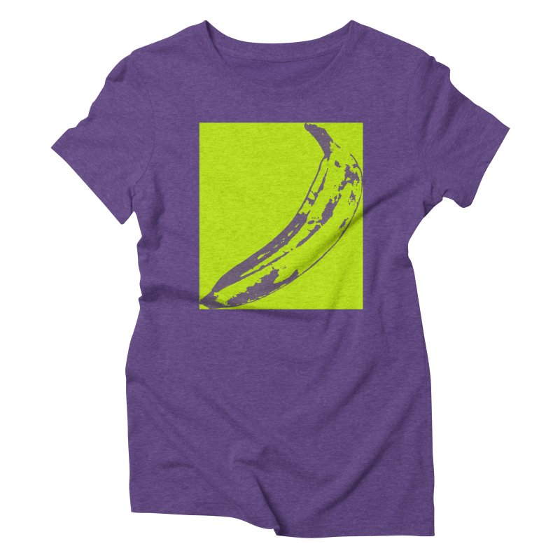 negative plantain Women's Triblend T-Shirt by Izzy Berdan's Artist Shop