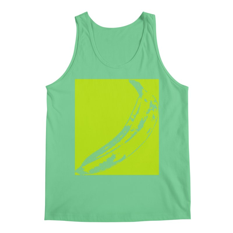 negative plantain Men's Regular Tank by Izzy Berdan's Artist Shop