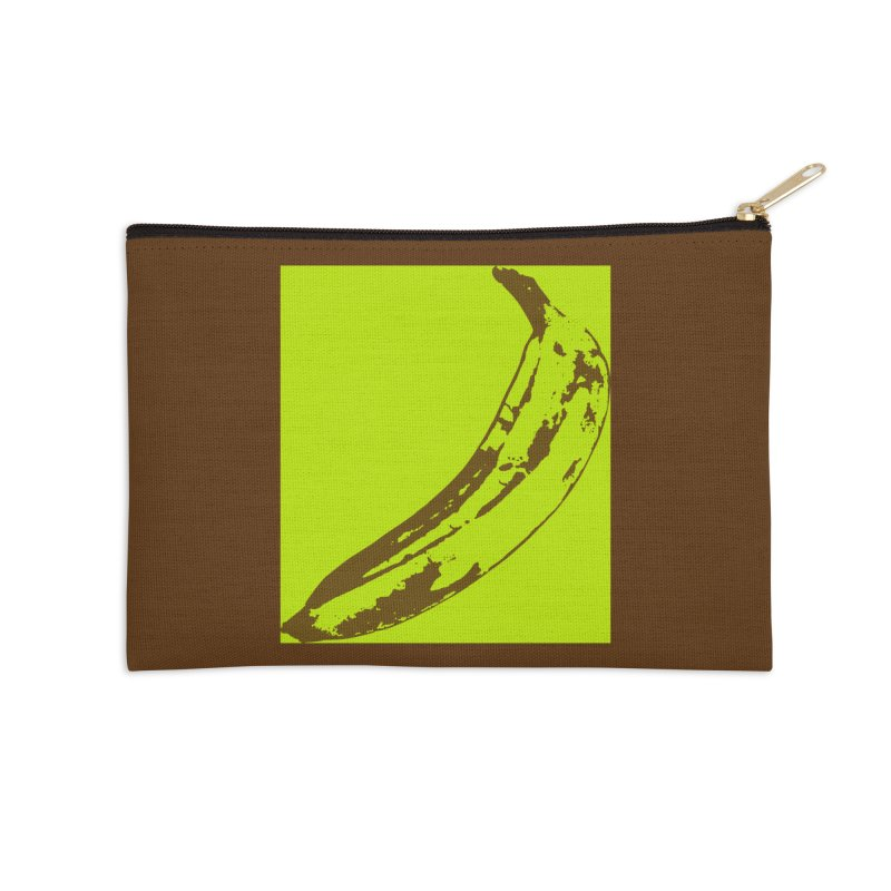 negative plantain Accessories Zip Pouch by Izzy Berdan's Artist Shop