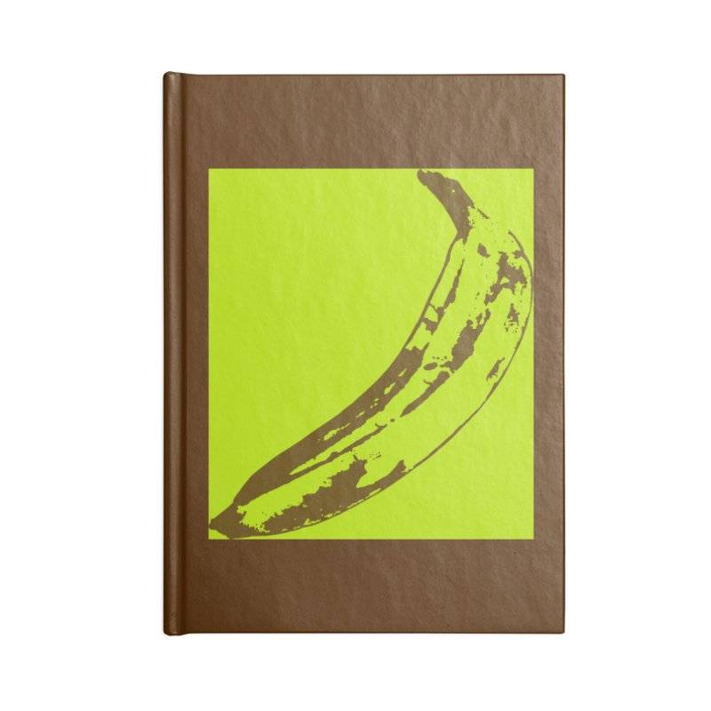 negative plantain Accessories Blank Journal Notebook by Izzy Berdan's Artist Shop