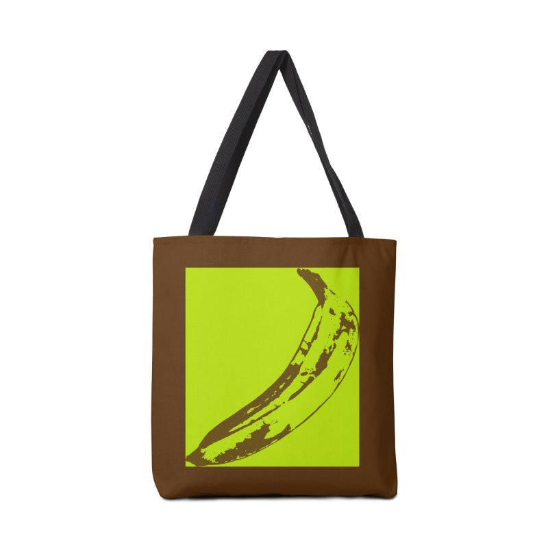 negative plantain Accessories Tote Bag Bag by Izzy Berdan's Artist Shop