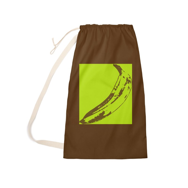 negative plantain Accessories Bag by Izzy Berdan's Artist Shop