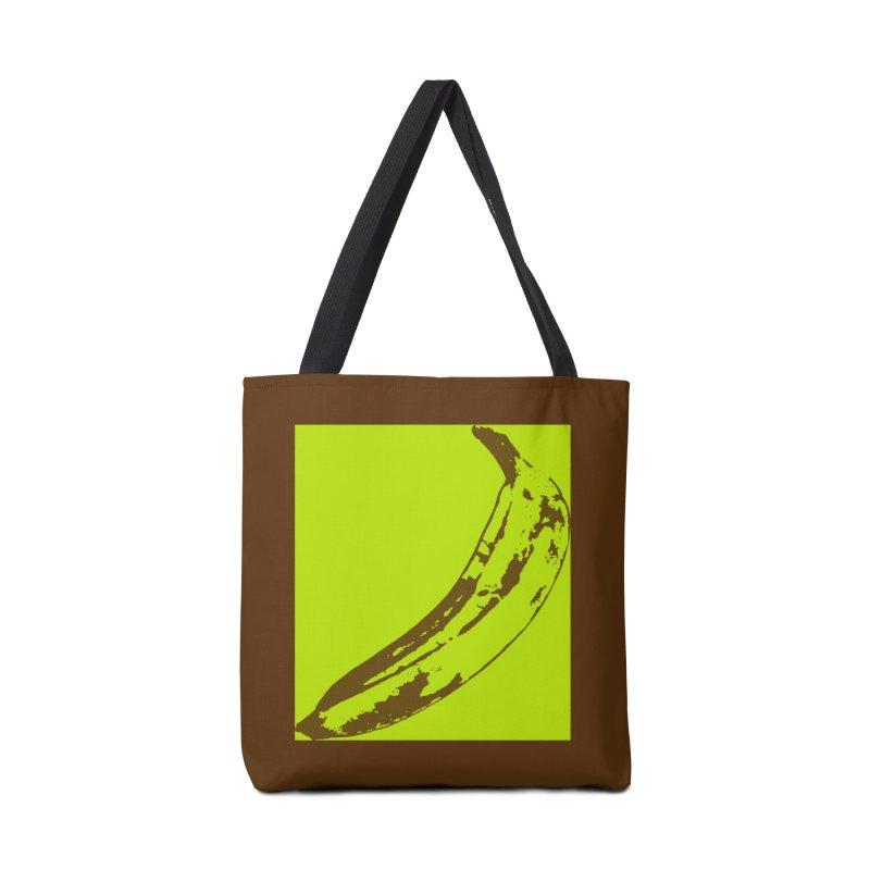 negative plantain Accessories Bag by Izzy Berdan's Artist Shop