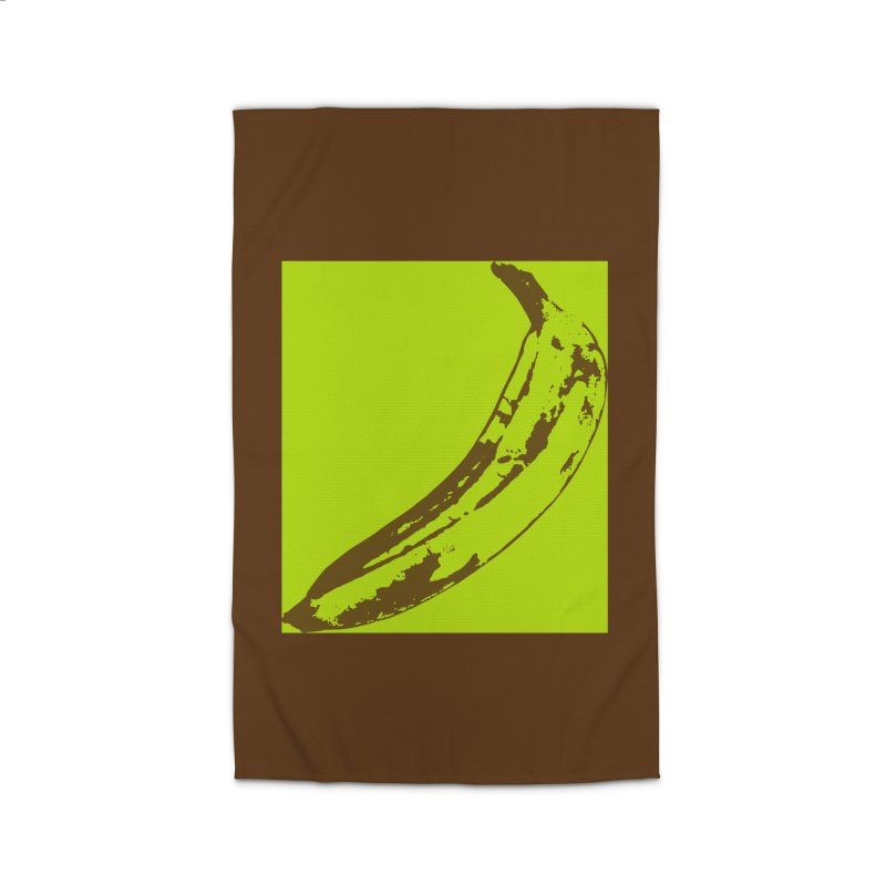 negative plantain Home Rug by Izzy Berdan's Artist Shop