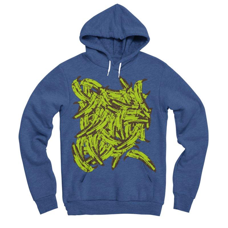 Pile-O-Plantains Men's Sponge Fleece Pullover Hoody by izzyberdan's Artist Shop