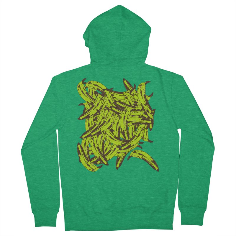 Pile-O-Plantains Women's Zip-Up Hoody by Izzy Berdan's Artist Shop