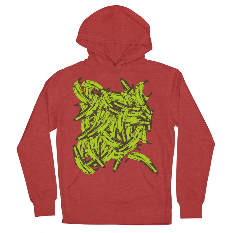 Pile-O-Plantains Women's French Terry Pullover Hoody by Izzy Berdan's Artist Shop