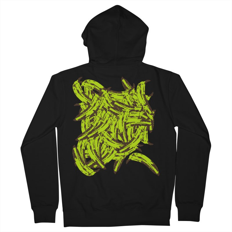 Pile-O-Plantains Women's French Terry Zip-Up Hoody by izzyberdan's Artist Shop
