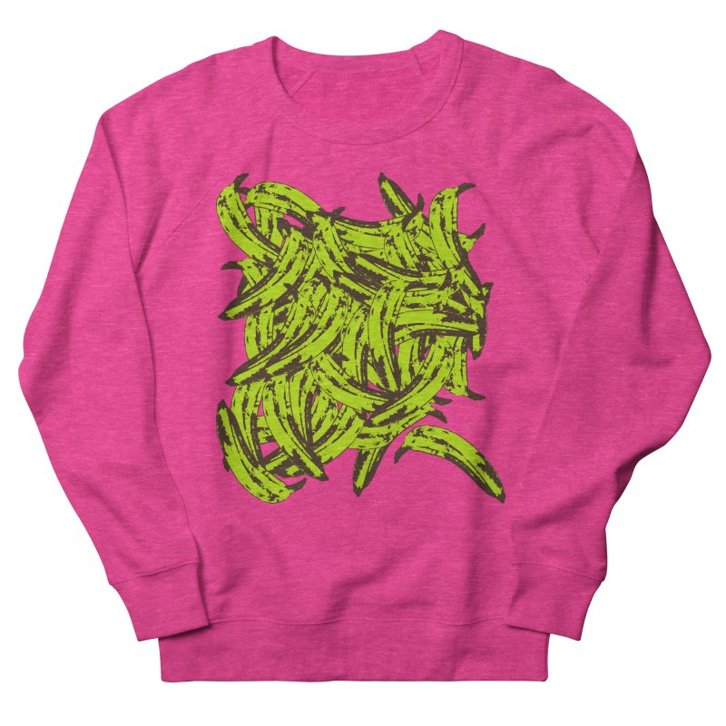 Pile-O-Plantains Women's French Terry Sweatshirt by Izzy Berdan's Artist Shop