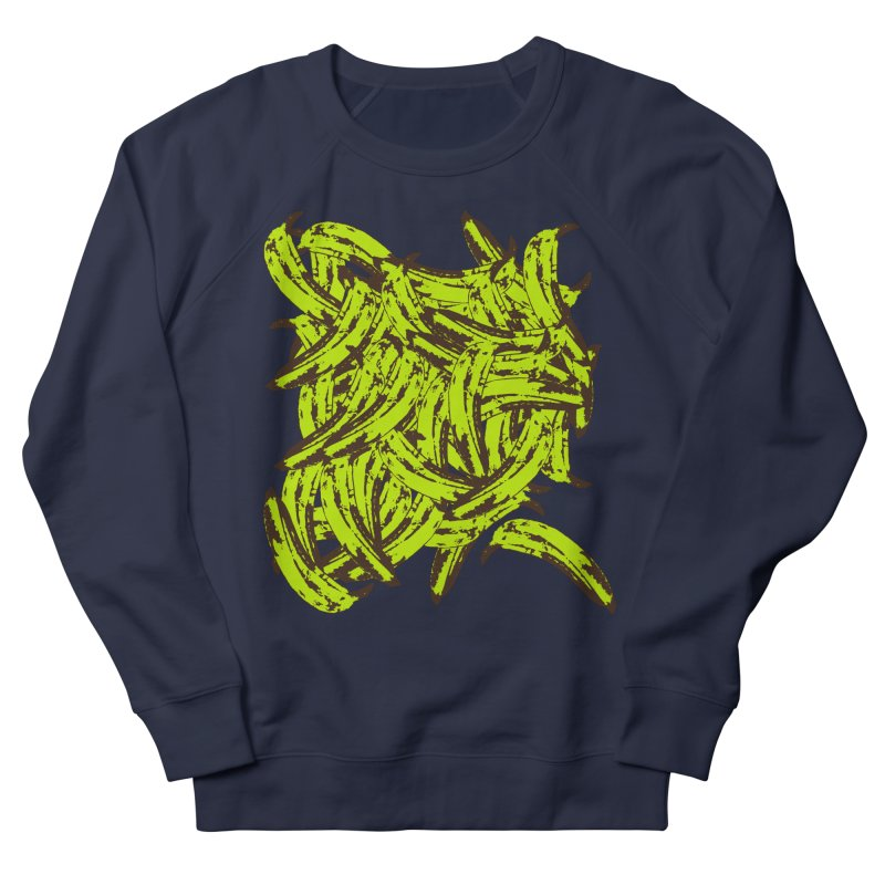 Pile-O-Plantains Women's French Terry Sweatshirt by izzyberdan's Artist Shop