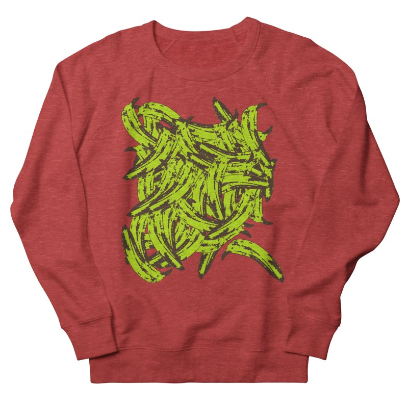 Pile-O-Plantains Men's French Terry Sweatshirt by Izzy Berdan's Artist Shop