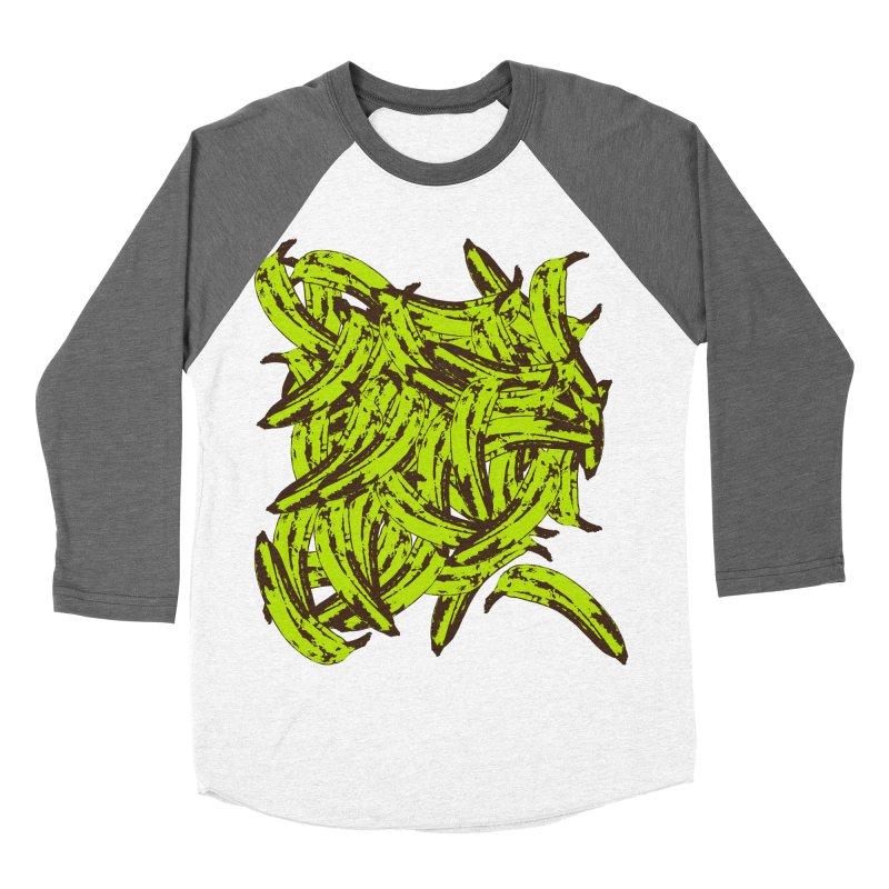 Pile-O-Plantains Men's Baseball Triblend Longsleeve T-Shirt by izzyberdan's Artist Shop