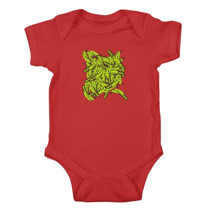 Pile-O-Plantains Kids Baby Bodysuit by Izzy Berdan's Artist Shop