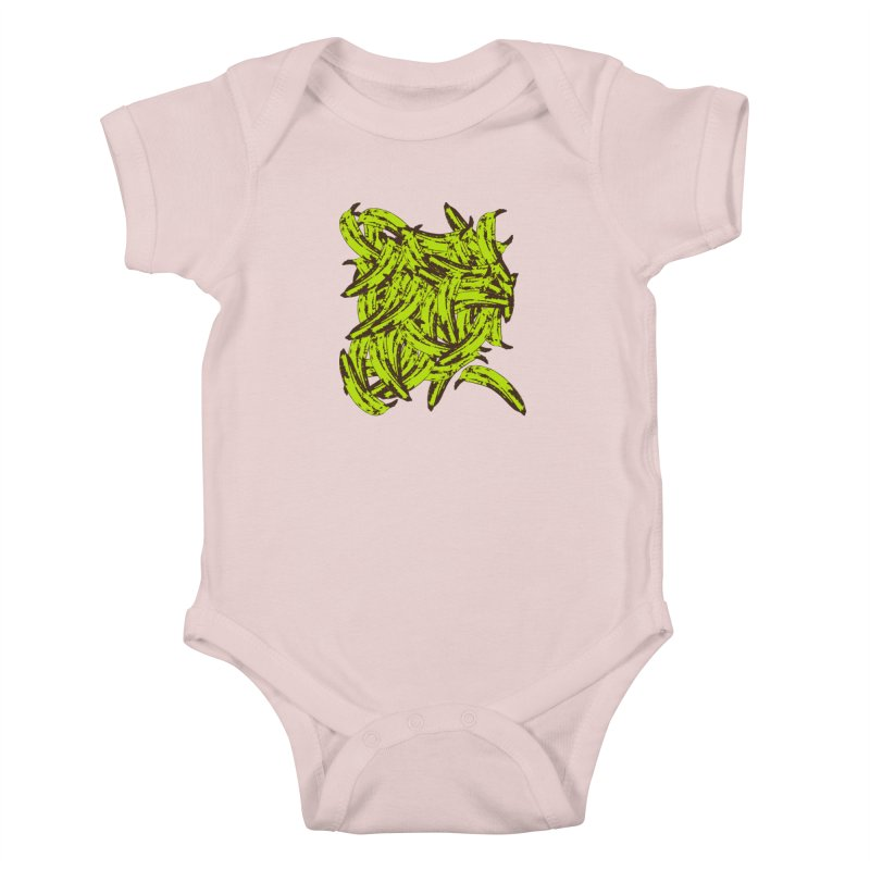 Pile-O-Plantains Kids Baby Bodysuit by izzyberdan's Artist Shop