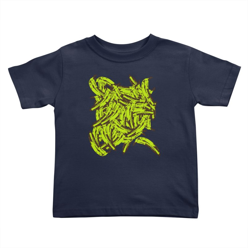 Pile-O-Plantains Kids Toddler T-Shirt by Izzy Berdan's Artist Shop