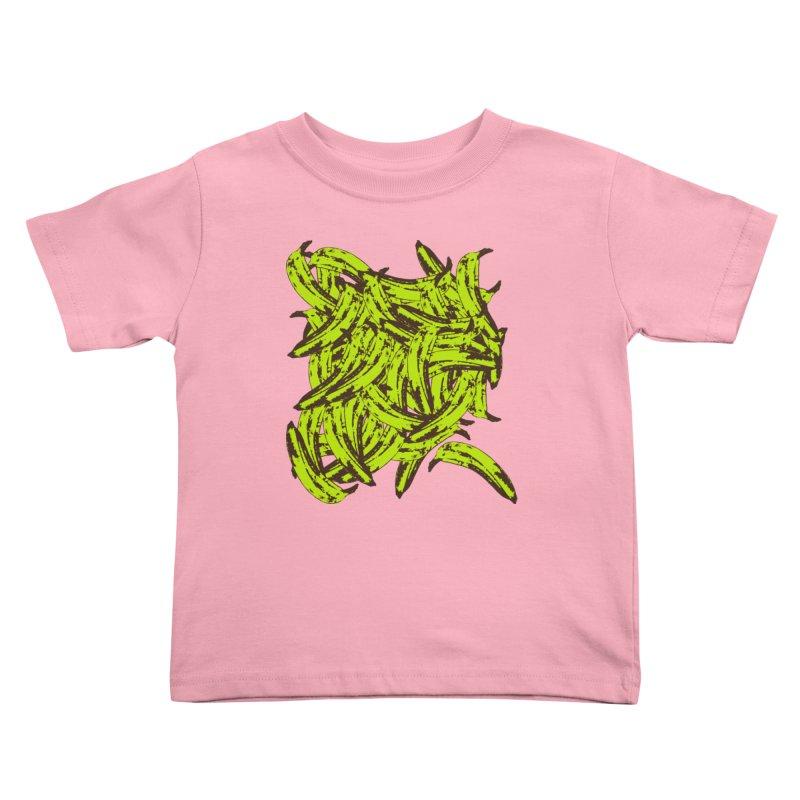Pile-O-Plantains Kids Toddler T-Shirt by Izzy Berdan's Artist Shop