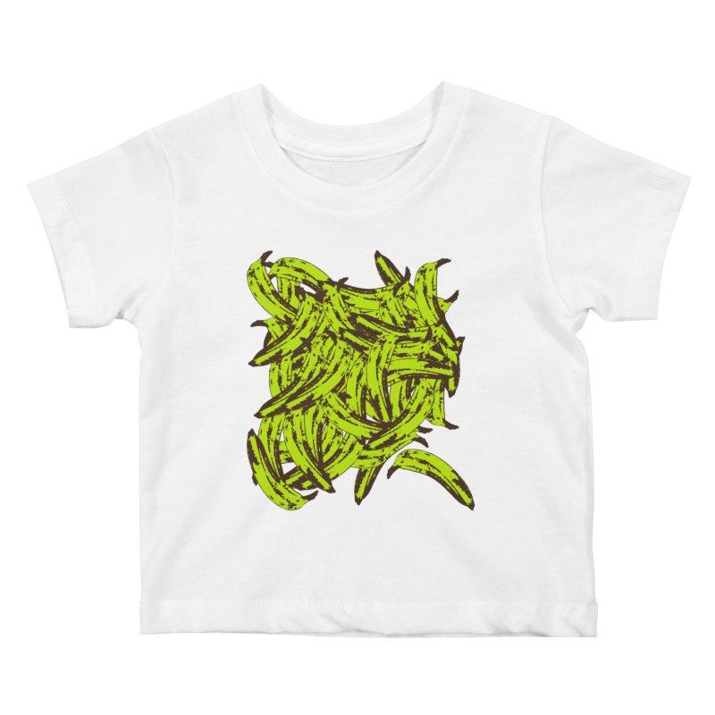 Pile-O-Plantains Kids Baby T-Shirt by Izzy Berdan's Artist Shop