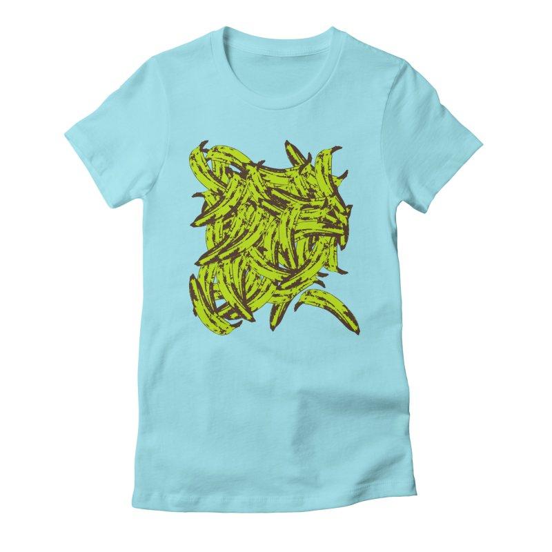 Pile-O-Plantains Women's T-Shirt by Izzy Berdan's Artist Shop