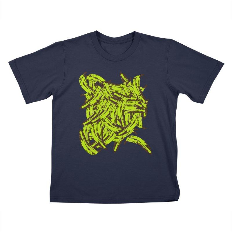 Pile-O-Plantains Kids T-Shirt by Izzy Berdan's Artist Shop