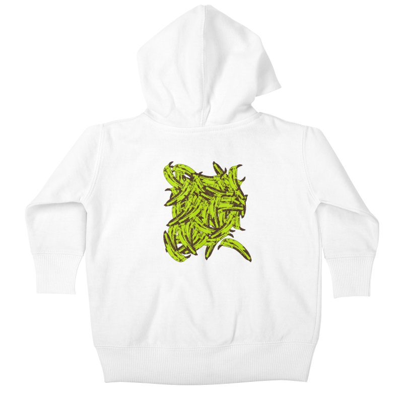Pile-O-Plantains Kids Baby Zip-Up Hoody by izzyberdan's Artist Shop