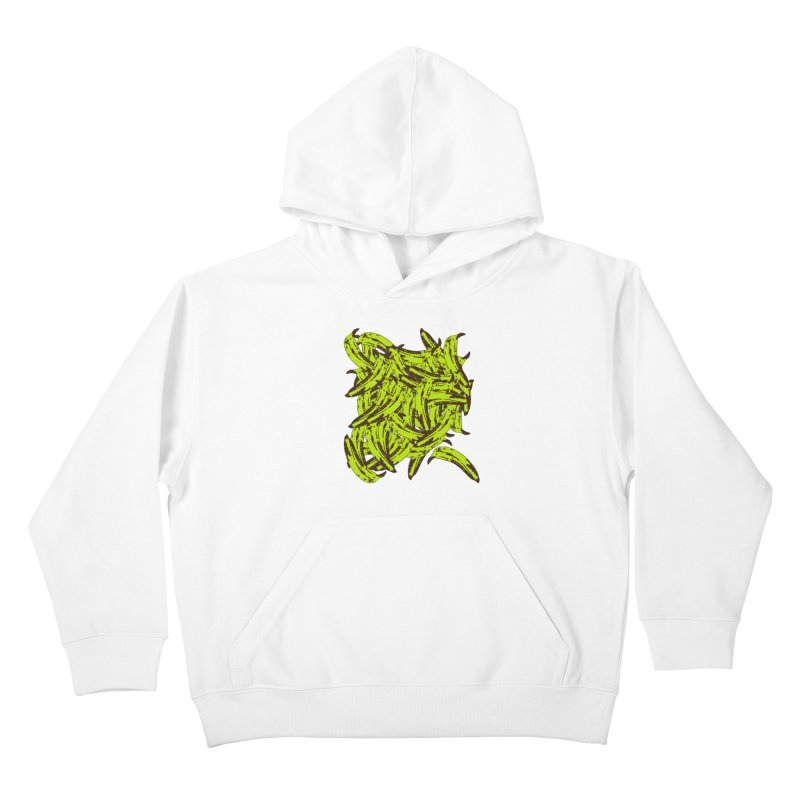 Pile-O-Plantains Kids Pullover Hoody by izzyberdan's Artist Shop