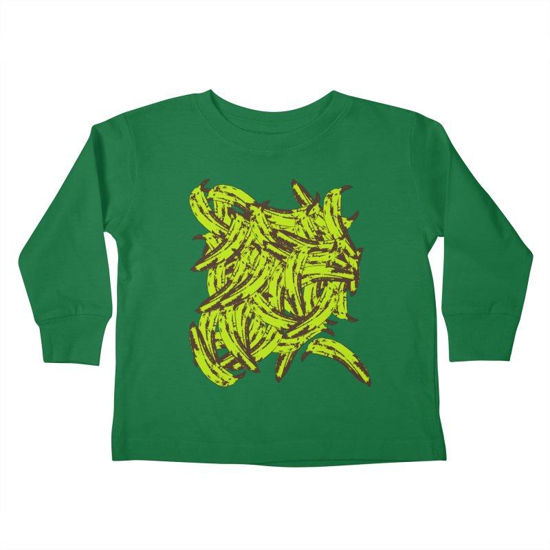 Pile-O-Plantains Kids Toddler Longsleeve T-Shirt by Izzy Berdan's Artist Shop