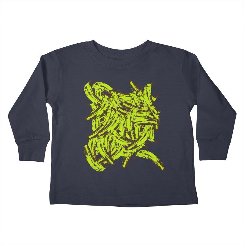 Pile-O-Plantains Kids Toddler Longsleeve T-Shirt by izzyberdan's Artist Shop