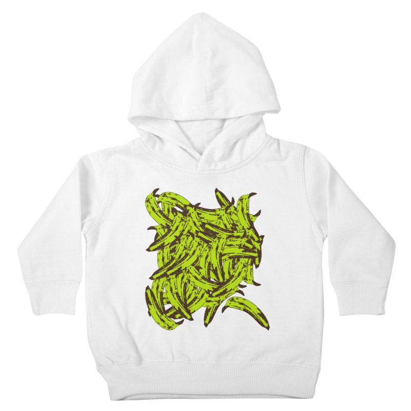 Pile-O-Plantains Kids Toddler Pullover Hoody by Izzy Berdan's Artist Shop