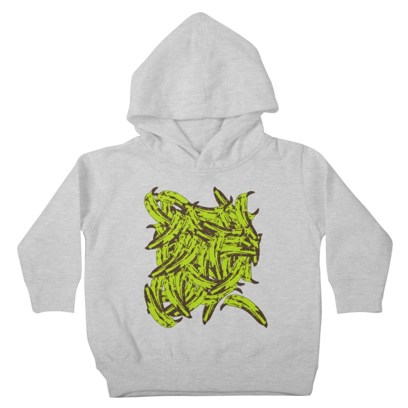 Pile-O-Plantains Kids Toddler Pullover Hoody by izzyberdan's Artist Shop